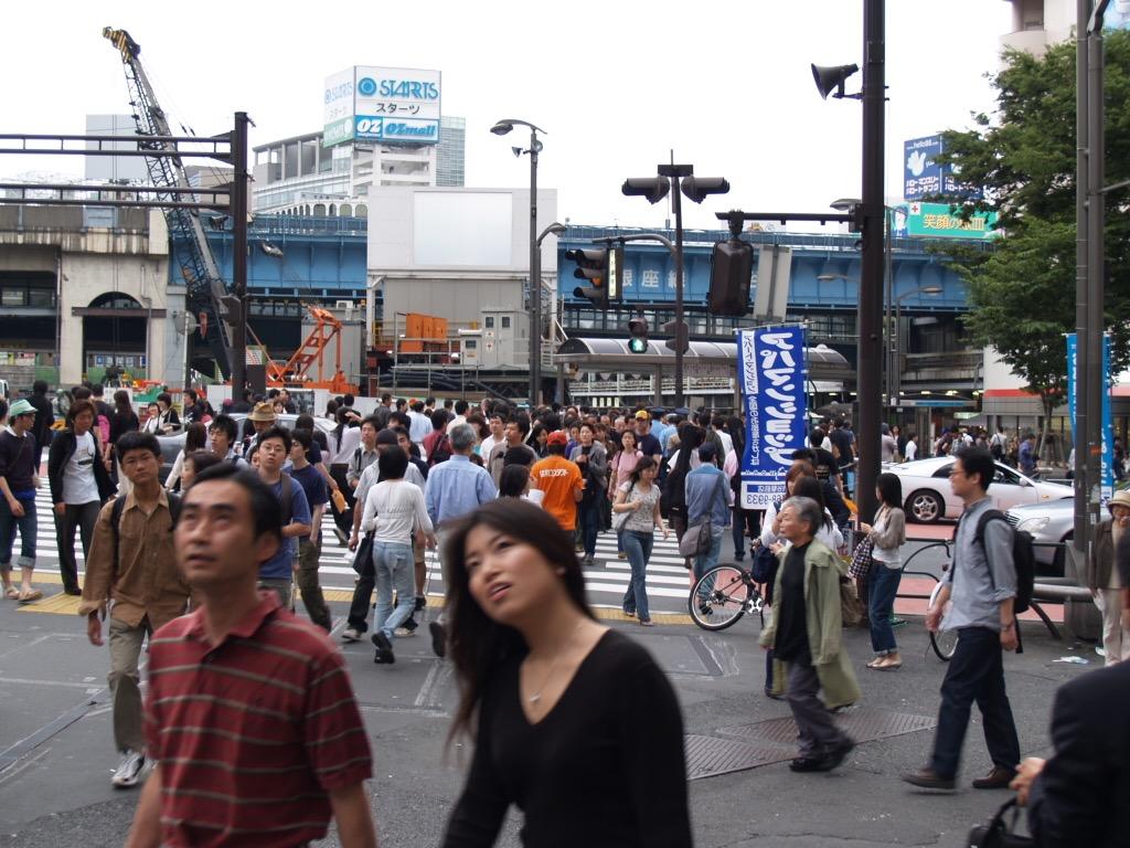 渋谷、代官山