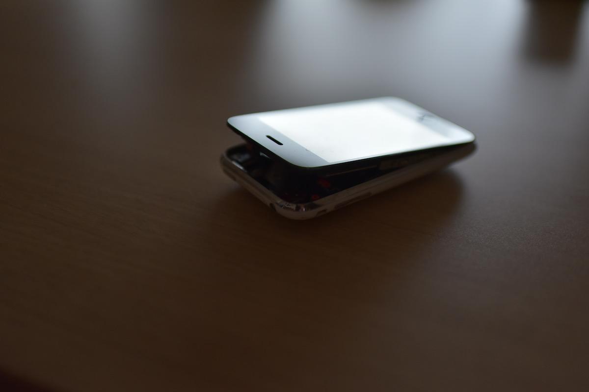 iPhoneの電池パック
