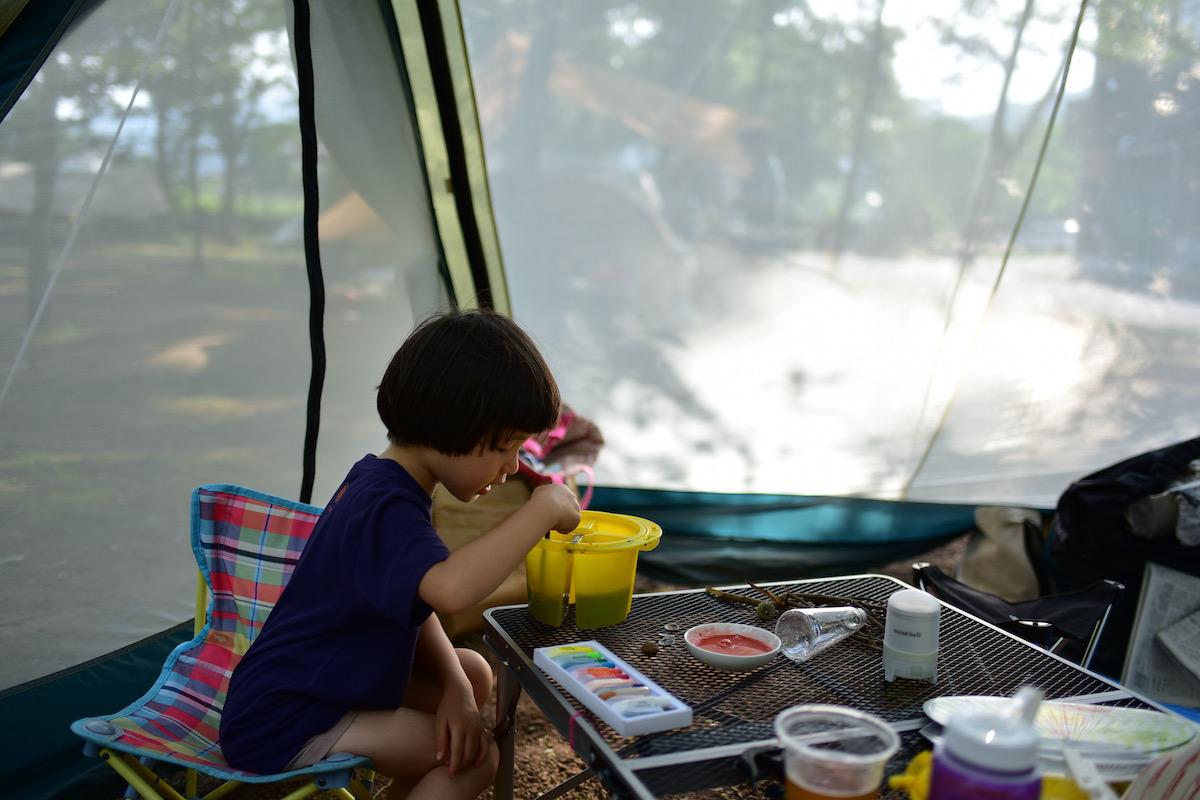 キャンプベアード、萬城の滝