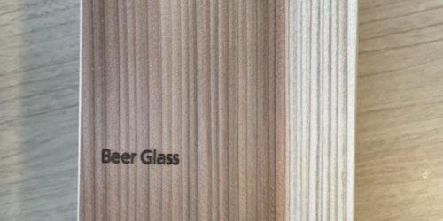 生涯と添い遂げるグラス