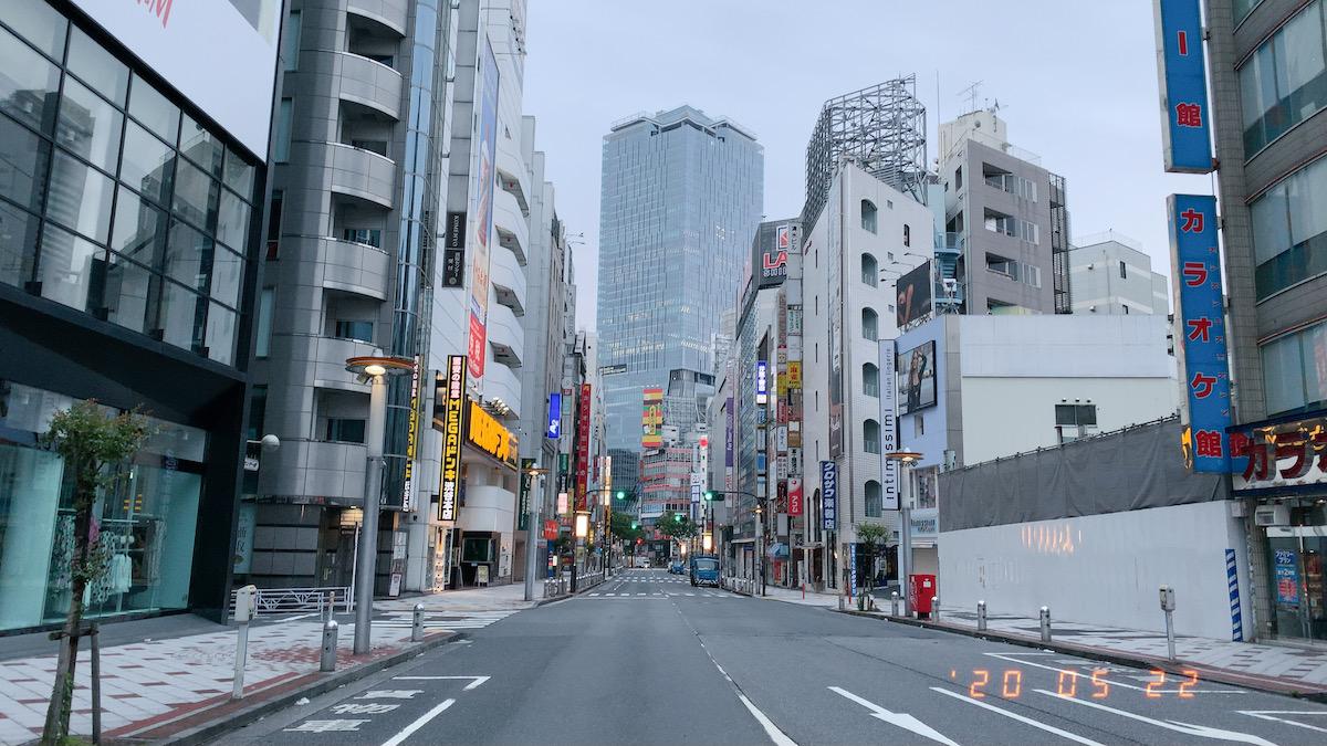 morning run,shibuya