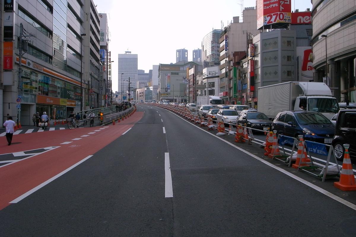 日々、11月、12月。東京。