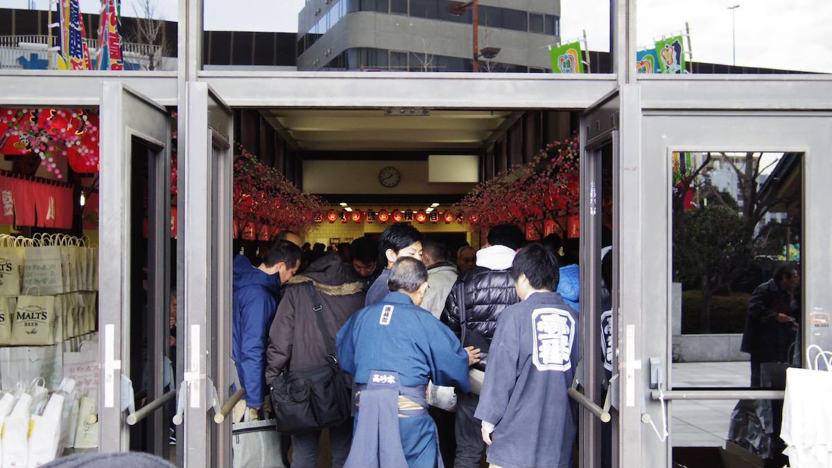 日々、東京。大相撲。