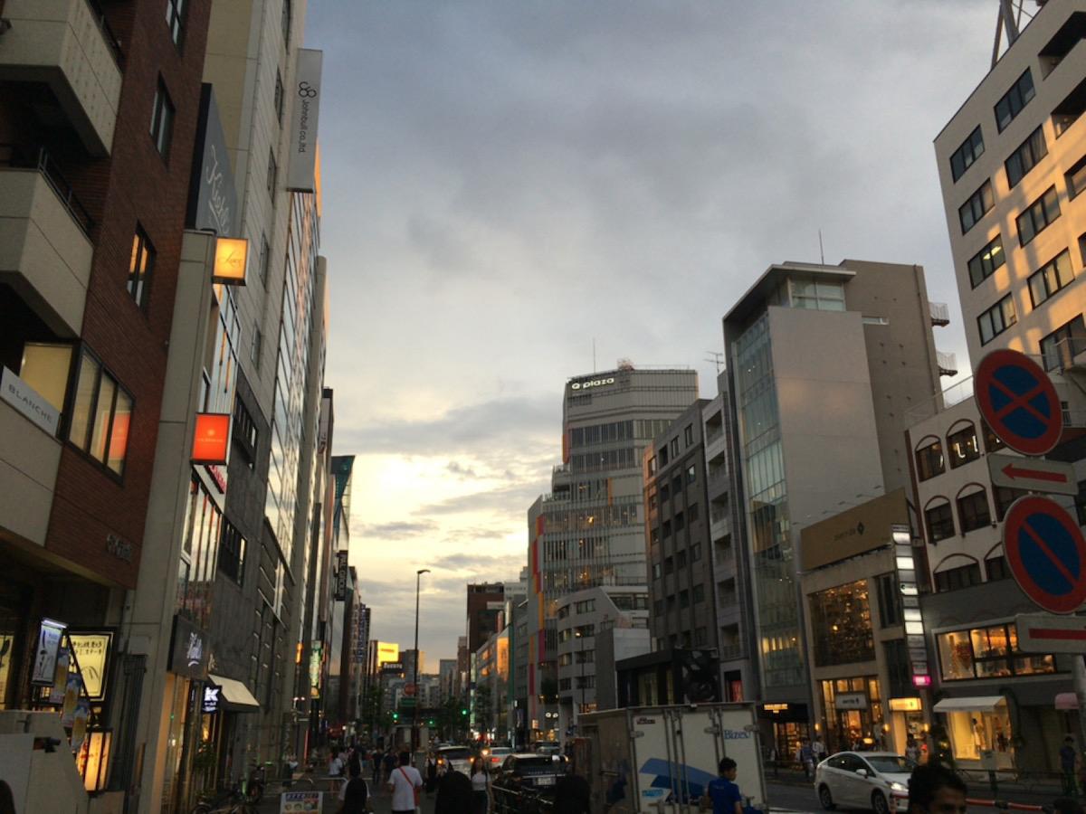 日々、東京。8月。