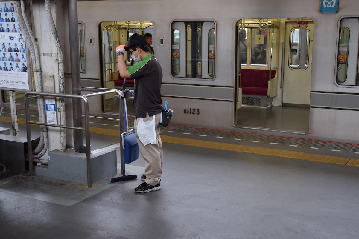 日々、東京。8月から9月へ。