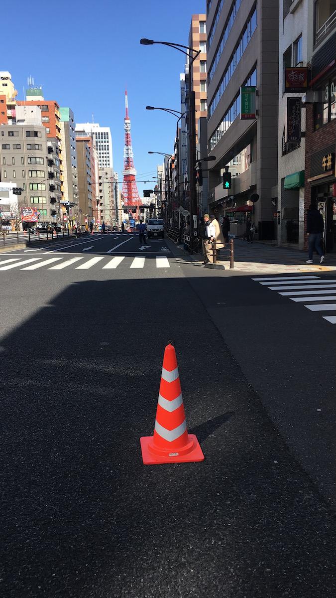 日々、東京。東京マラソンとか。
